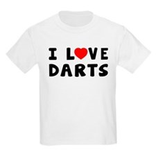 I Love Darts T-Shirt