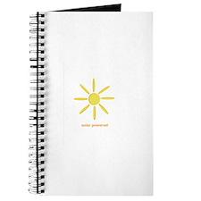 Solar Powered Journal