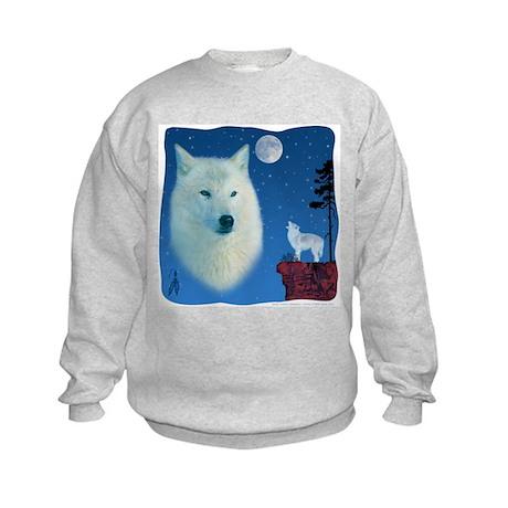 White Wolf Kids Sweatshirt