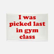Gym Class Rectangle Magnet