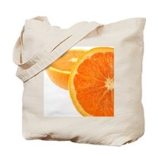 Two halves of an orange, partial view Tote Bag