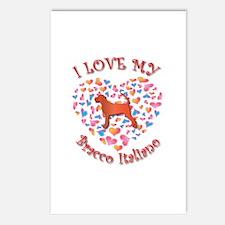 Love Bracco Postcards (Package of 8)