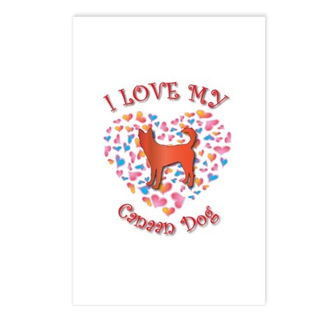 Love Canaan Postcards (Package of 8)