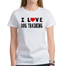 I Love Dog Training Tee