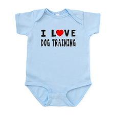 I Love Dog Training Infant Bodysuit