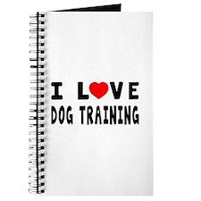 I Love Dog Training Journal