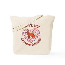Love Caucasian Tote Bag