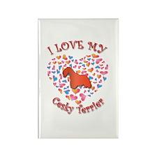 Love Cesky Rectangle Magnet (100 pack)