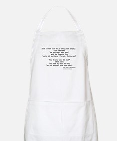 """""""Mad"""" Quote ONLY -  BBQ Apron"""