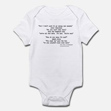 """Mad"" Quote ONLY -  Infant Bodysuit"