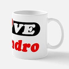 I Love Alejandro Mug