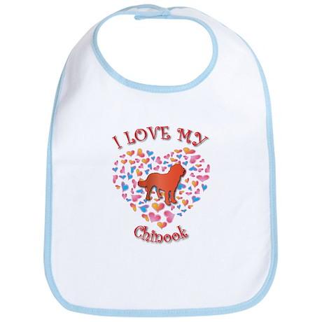 Love Chinook Bib