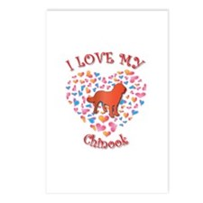 Love Chinook Postcards (Package of 8)