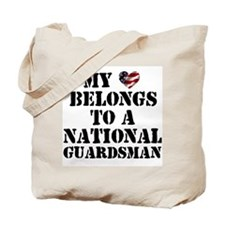 My Heart Belongs to Guardsman Tote Bag