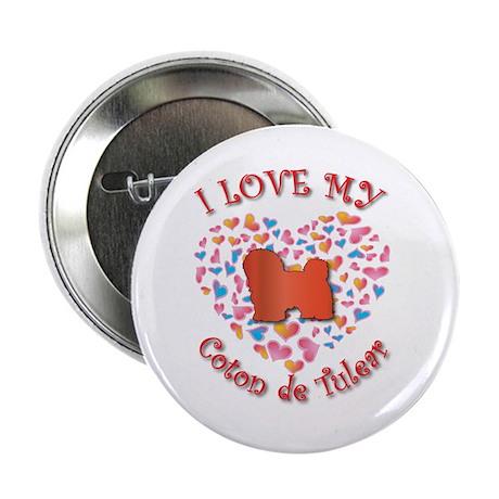 "Love Coton 2.25"" Button (100 pack)"