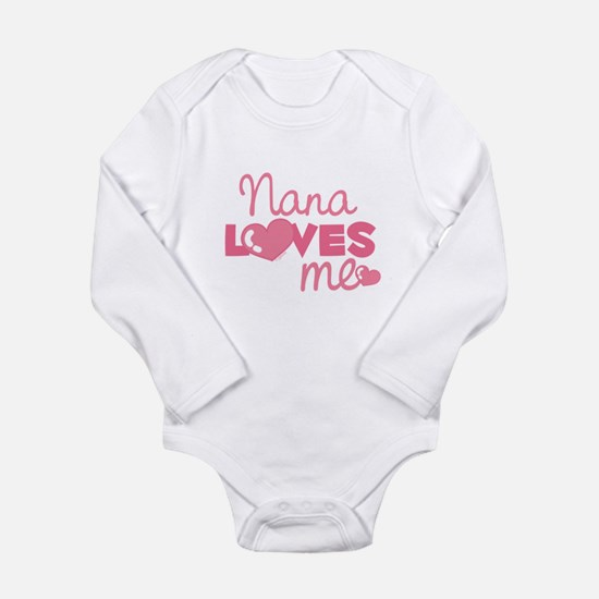 Nana Love Me (pink) Infant Bodysuit Body Suit