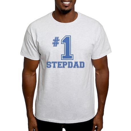 #1 Stepdad Light T-Shirt