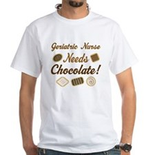 Geriatric Nurse Chocolate Gift Shirt
