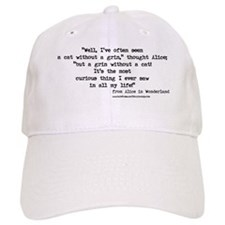 """""""Grin"""" Quote ONLY - Baseball Cap"""