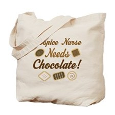 Hospice Nurse Chocolate Gift Tote Bag