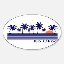 Ko Olina, Hawaii Oval Decal