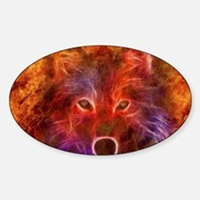 Fire Wolf Decal
