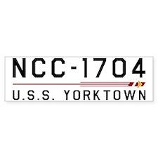 USS Yorktown Bumper Sticker