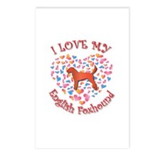 Love Foxhound Postcards (Package of 8)