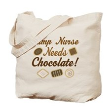 Camp Nurse Chocolate Gift Tote Bag