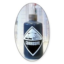 Corrosive liquid Decal