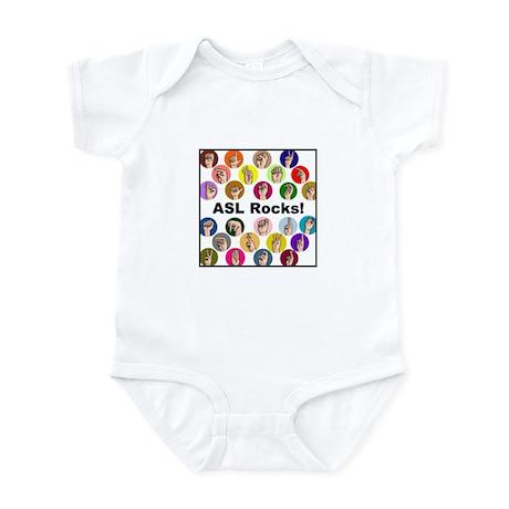 ASL Rocks! Infant Bodysuit