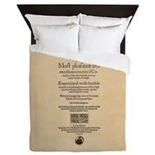 Folio-WivesofWindsor Queen Duvet