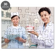 Dentist and nurse in dental clinic Puzzle
