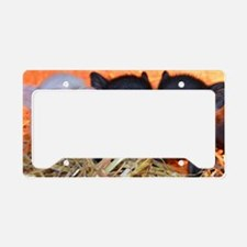 3 little micro pigs License Plate Holder