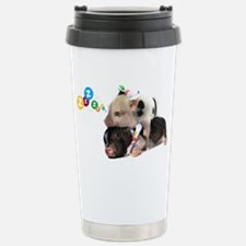 micro pigs sleeping Travel Mug