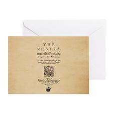 Folio-TitusAndronicus Greeting Card