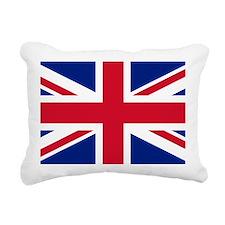 Union Jack Rectangular Canvas Pillow