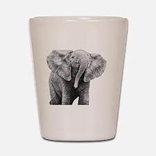 Baby African Elephant Pillow Case Shot Glass