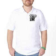 Baby African Elephant Pillow Case T-Shirt