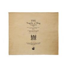 Folio-KingRichardII Throw Blanket