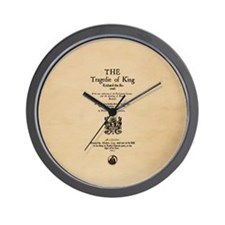 Folio-KingRichardII Wall Clock