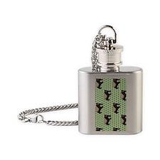 Honey Badger Flask Necklace
