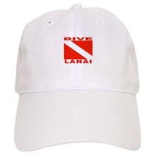 Dive Lanai, Hawaii Baseball Cap