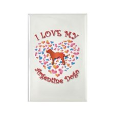 Love Dogo Rectangle Magnet (100 pack)