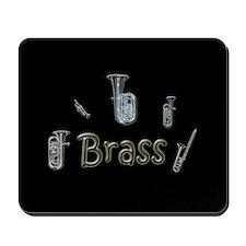 Brass Mousepad (black)