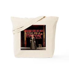 Midsummer Nights Dream Fierce Quote Colla Tote Bag
