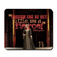 Midsummer Nights Dream Fierce Quote Coll Mousepad