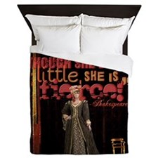 Midsummer Nights Dream Fierce Quote Co Queen Duvet