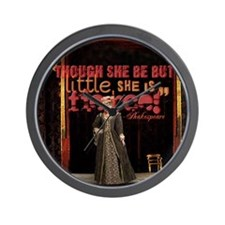 Midsummer Nights Dream Fierce Quote Col Wall Clock