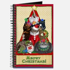 Meowy Christmas Journal
